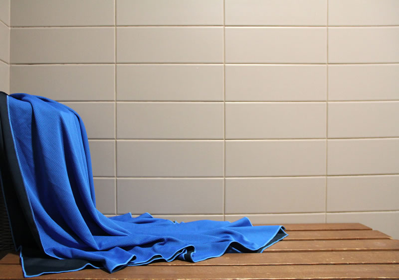 Chilly Pashmina Blue Towel