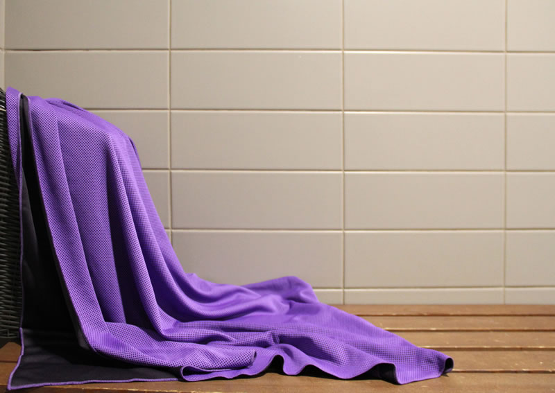 Chilly Pashmina Purple Towel