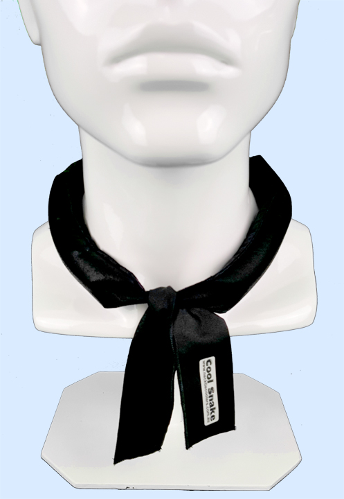 Neck Tie Cooler - Black