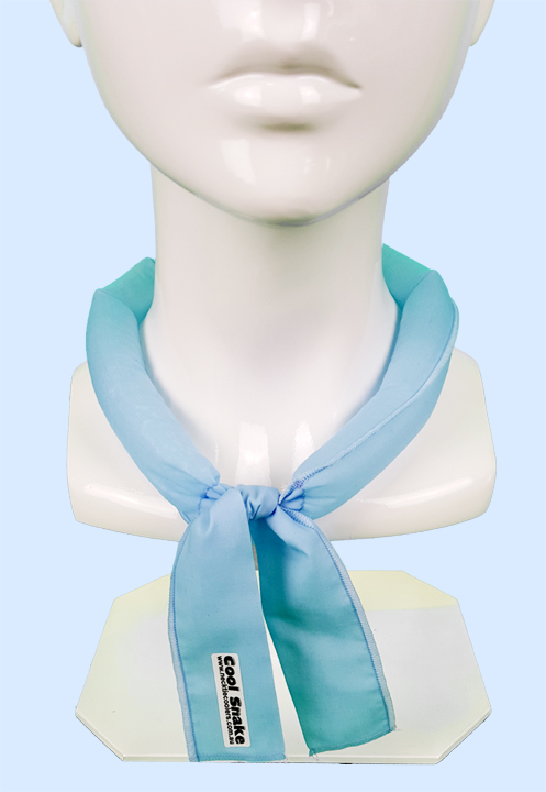 Neck Tie Cooler - Light Blue