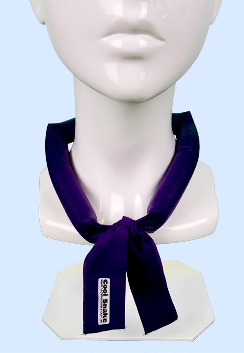 Neck Tie Cooler - Purple