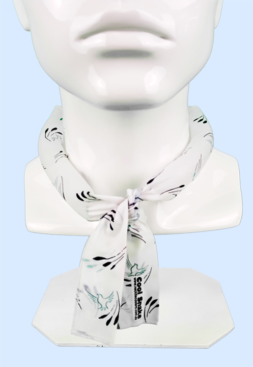 Neck Tie Cooler - Peace Doves