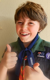 Great opportunities to fundraise also exist within the Scouting movement...